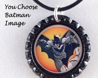 batman necklace,you choose image,batman jewelry,batman charm necklace,kids batman necklace,batman theme,dc jewelry,dc necklaces,batman charm