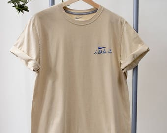 Nike x TCP Embroidered Shirt / M /  Cream