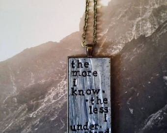 Don Henley Heart of the Matter Pendant Necklace