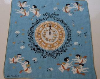 Vintage Pat Prichard Handkerchief Hankie