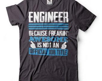 Engineer T-shirt Gift For Engineer Funny Engineering T-shirt