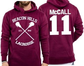 Beacon Hills Teen Wolf McCALL 11 Unisex Hoody Jumper