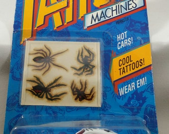 Hot Wheel collectors, Vintage Hot Wheels car, Tattoo Machines series Hot Wheels,  Spiderider, 3479 Hot Wheel, toy car Birthday gift kids toy