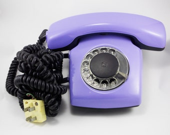 Retro gift\for\her rotary dial phone Rotary phone retro home phones decor old desk phone vintage phone Working Telephone antique telephones