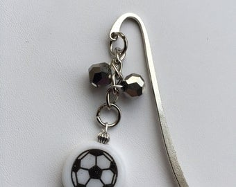 Kids Metal Bookmark Soccer Ball