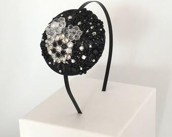 Black Jewel Headband