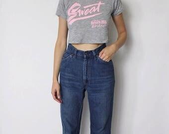 Vintage 1970s Levi's Denim Jeans 24 | Levis High Waist Denim Jeans | 1970s Denim Jeans