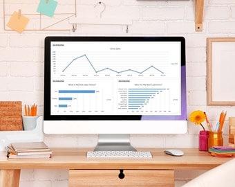 Etsy Sales Tracker – Multi Venue – Sales Tracker – Seller Spreadsheet, Sales Tracking