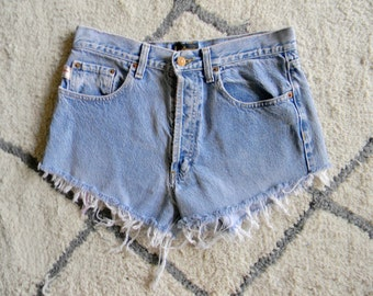 High Waisted Shorts *DAMAGED*