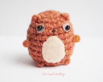 Crochet Bear mini amigurumi crochet toy, Crochet Brown Bear, crochet plush Bear crochet plush toy, crochet animals, handmade toy