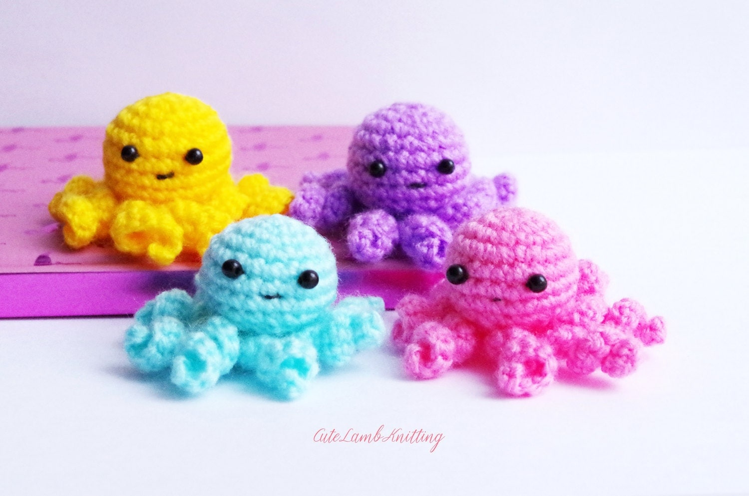 Mini Amigurumi Octopus : Crochet octopus mini amigurumi octopus crochet toy crochet