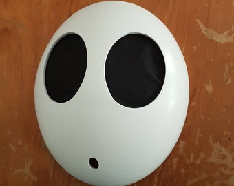 Shy Guy Mask // Nintendo Cosplay // 3D Printed Acessories // Super Mario Bros.