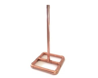 Industrial Copper Pipe Paper Towel Holder