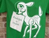 The Vegan Vixens Christmas Tee Shirt