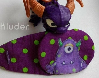 "Eye patches ""Monster"" for lazy eye (amblyopia)"