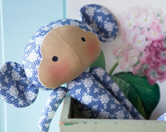 Tilda Sewing Kit - 2 monkey to fall in love