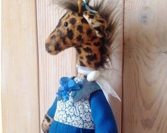Giraffe Teddy giraffe Teddy Stuffed animals Vintage toy Stuffed giraffe Vintage bear Stuffed bear Teddy giraffe toy