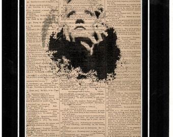 Marlene Dietrich Dictionary art