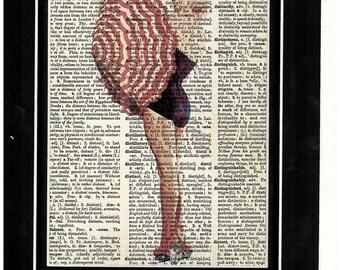 274 Mariyln Monroe Bathing Suit Vintage Print