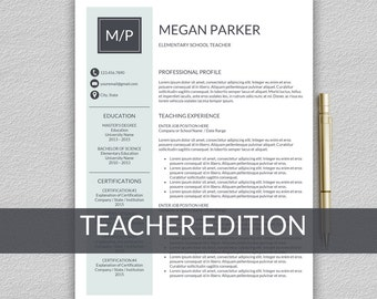 Operation Manager Resume Word Professional Resume Modern Resume Resume Template Word First Year College Student Resume Word with Resume Headings Excel Teacher Resume Template For Word  Resume Teacher  Cv Teacher  Teaching  Resume Template  Resume Description Word