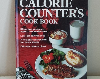 Vintage Cook Book, Vintage Better Homes and Gardens Cook Book, Vintage Calorie Counter's Cook Book, 1970's Cook Book