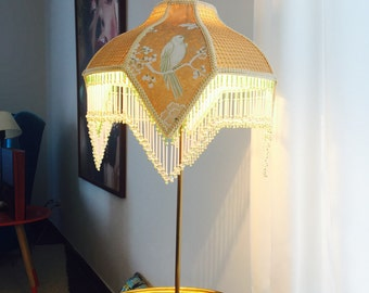 Art Nouveau / art nouveau Lampshade golden birds