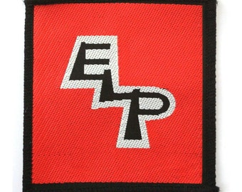 ELP  Emerson, Lake , and Palmer vintage sew on woven patch
