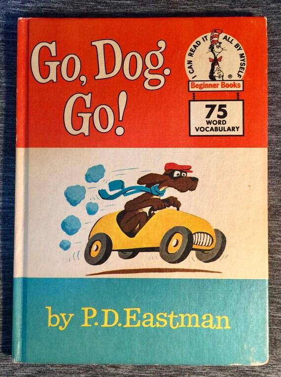 Go perro. Vaya Por P.D. Eastman. Antiguo libro por HouseOfTheFound