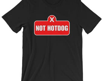 Silicon Valley Not Hotdog T-shirt