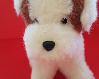 dog; organic toy; woolen toy; child toy; kids toy; small toy; natural eco-friendly toy