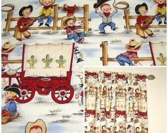 Amazing Cowboy Curtains | Etsy