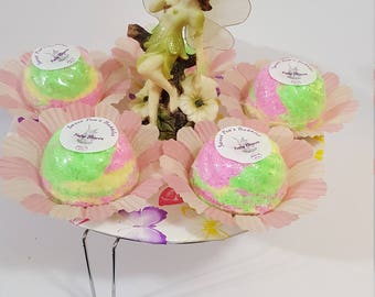 Fairy, Fairy Bath Bomb, Fairy Dust Bath Bomb,  Bath Bomb, Fairy Dust, Multi Color Bath Bomb