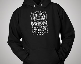 The Man The Myth The Legendary Ham Radio Operator Hoodie