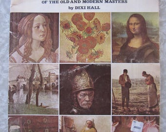 Artists - Old and Modern Masters by Dixi Hall, Walter Foster Vintage Art Book #141, How-To Booklet, Guide, Lessons, Painting Technique