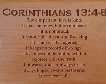 Engraved Bible Verse Etsy