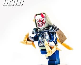 Lego® Overwatch Oni Genji Custom Minifigure