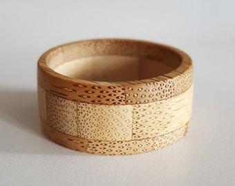 Bamboo Ring - Be Nice • Do Good • Make Change - Bodhi Rings