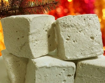 Gingerbread Gourmet Marshmallows  - 16 Gourmet Handcrafted Marshmallows