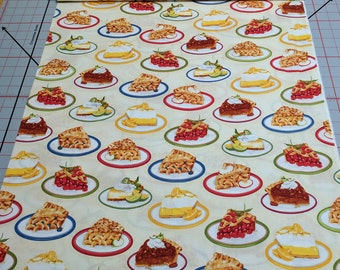 Kiss the Cook-Ivory Cotton Fabric from Robert Kaufman