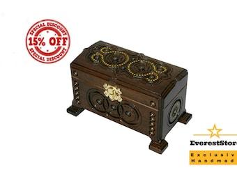 Personalized Box, Personalized Jewelry Box, Personalized Wooden Box, Wood Box, Ring Box, Jewelry Holder, Memory Box, Wooden Keepsake Box, Ke