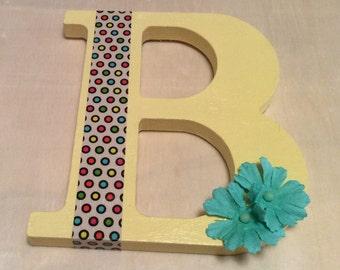 """Whimsical Letter """"B"""""""