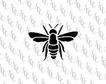 Reusable Stencil - Bee Silhouette - Many Sizes to Choose from!