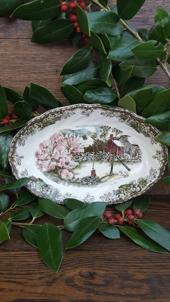 1950 39 S Christmas Decorations Dishes By Vintageamericanlife