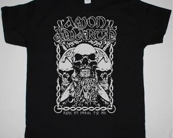 Amon Amarth Bearded Skull black t shirt