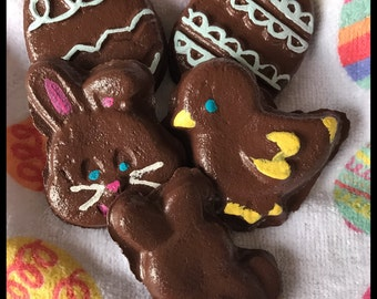 Easter Themed Fake Chocolates