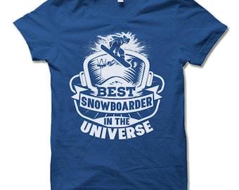 Snowboarder Shirt. Snowboarder Gifts. Snowboard Snowboarding T-shirt.