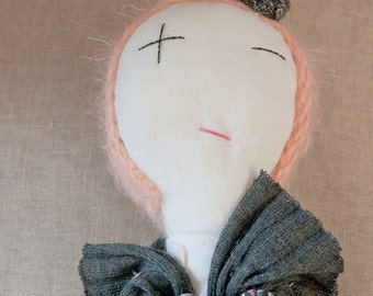 Rag doll. Ginette Murat - A Rag Dolls Collection.