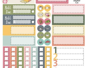Quirky Critters Mini Kit - Collaboration with Plantasia Print Shop