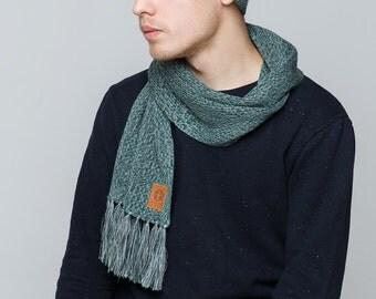 Mens scarf Hat and scarf set Melange hat Melange scarf Winter scarf and hat set Winter set Winter hat and scarf Womens hat scarf Fall scarf