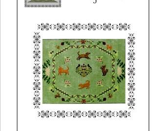 Ring a Rosie cross stitch pattern